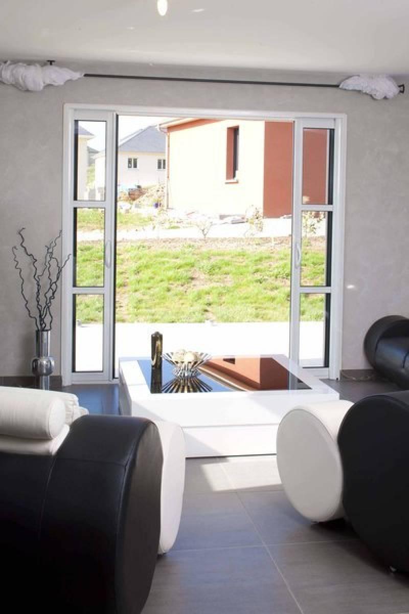 coulissant aluminium galandage k line toulouse menuiseries doumenc. Black Bedroom Furniture Sets. Home Design Ideas