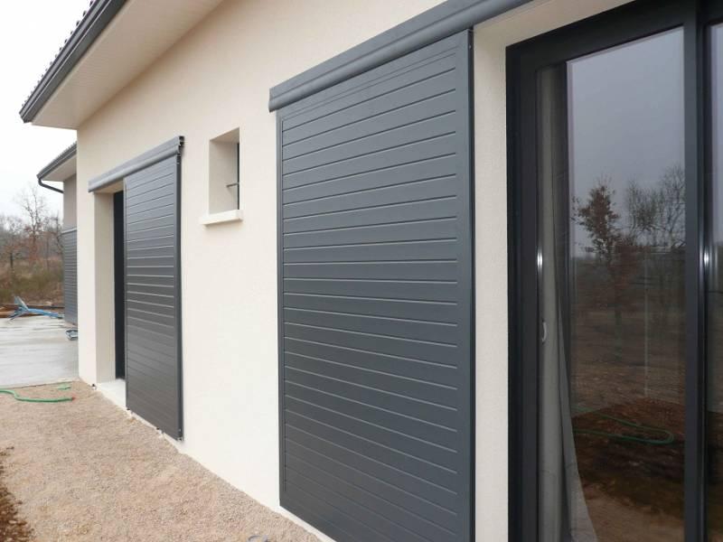 volet coulissant aluminium sur mesure distral toulouse menuiseries doumenc. Black Bedroom Furniture Sets. Home Design Ideas