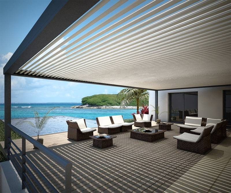 installateur de pergola bioclimatique lames orientables distra 39 sun toulouse menuiseries. Black Bedroom Furniture Sets. Home Design Ideas
