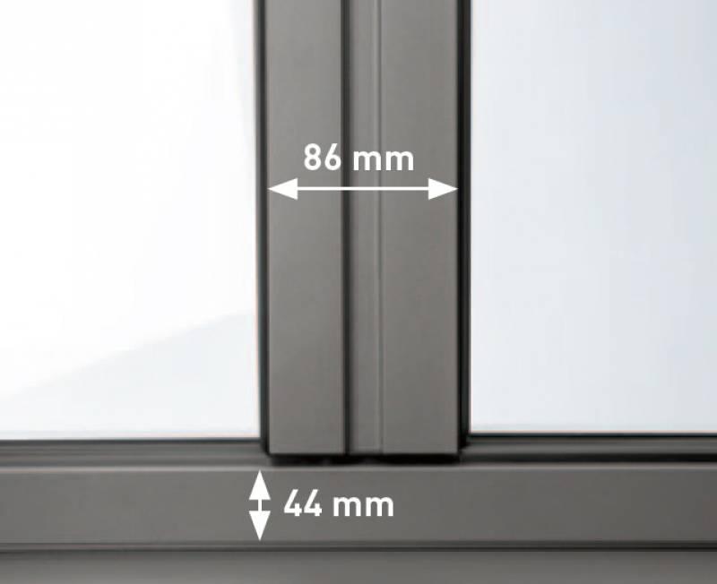 Qu 39 est ce que une fen tre aluminium ouvrant cach menuiseries dou - Image fenetre aluminium ...