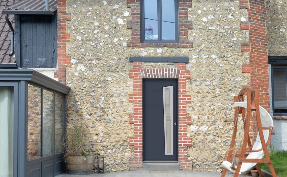installation de porte d entrée rénovation sur mesure BEL M ... 1517f3aa7b2
