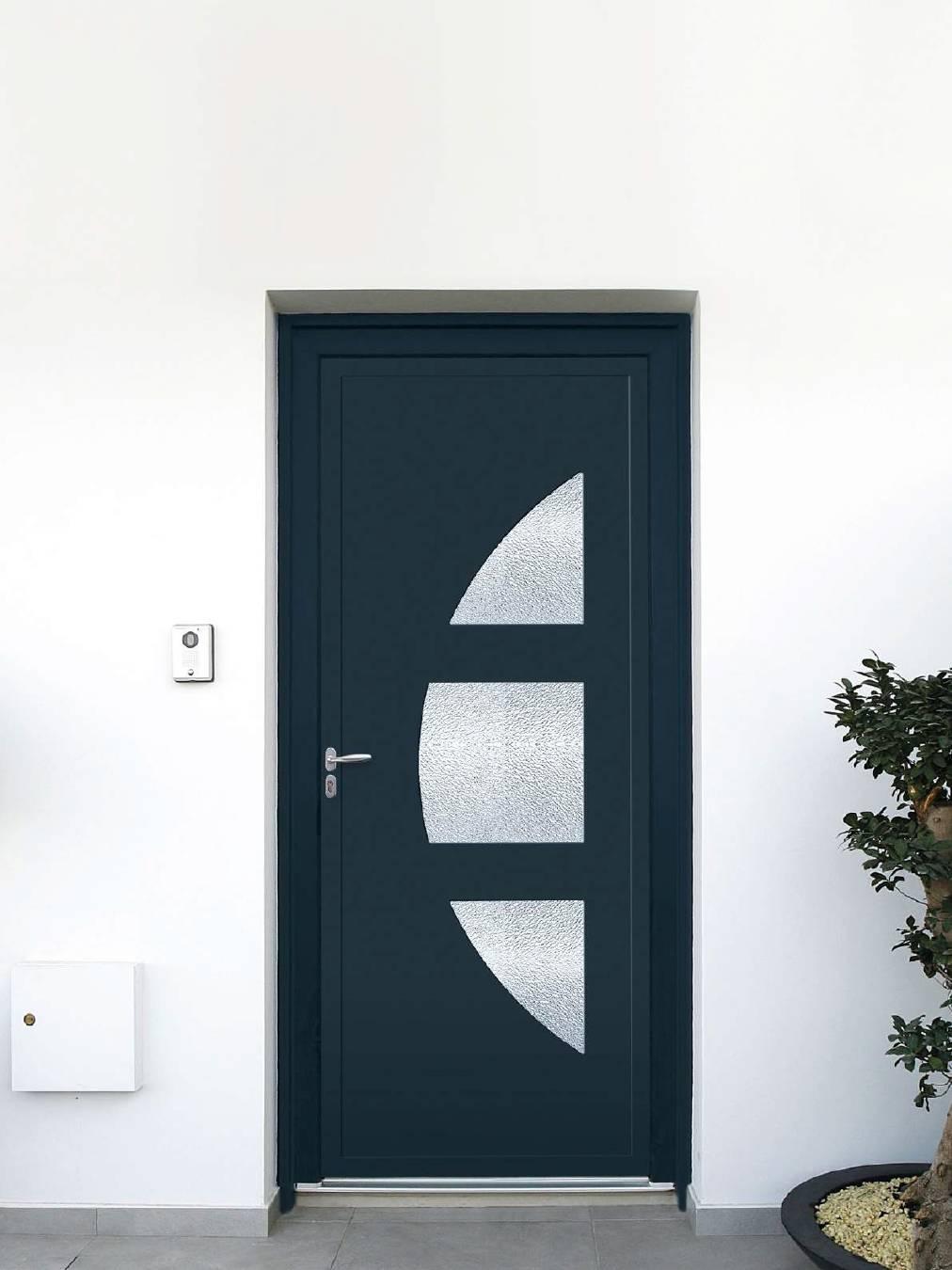 Pose de porte d entrée PVC à Toulouse - Menuiseries Doumenc 932e16f086a
