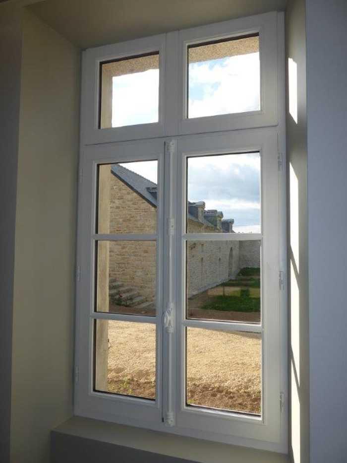 Fenêtre Bois Ou Fenêtre Pvc Avec Fausse Crémone Menuiseries Doumenc