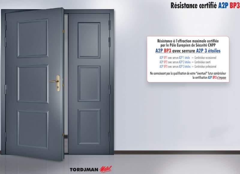 Fabrication de portes d 39 entr e sur mesure toulouse for Porte tordjman